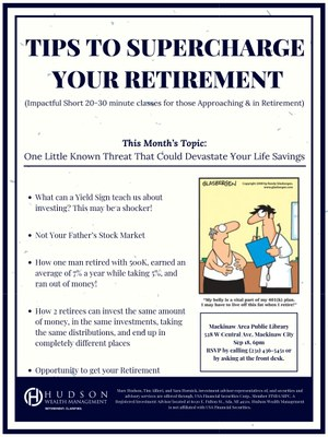 Retirement Financial Planning with Hudson Wealth Management