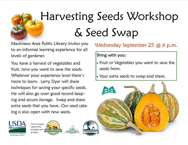seed harvesting