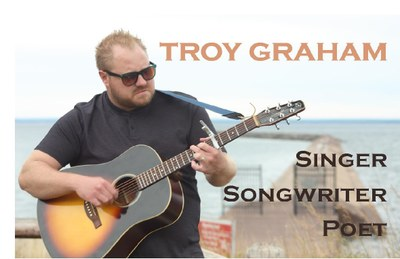 Troy Graham at the Pellston Library